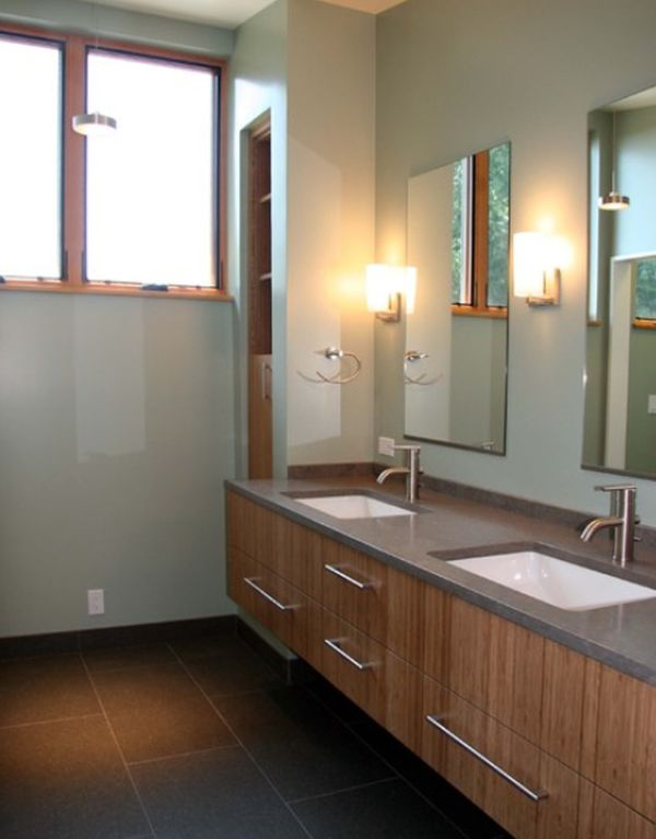 modern bathroom sinks.  Undermount Bathroom Sink Design Ideas We Love