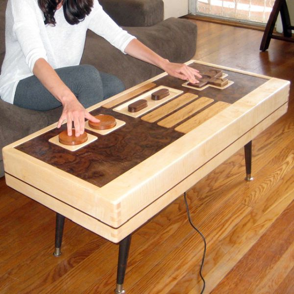 Nintendo Controller Coffee Table.