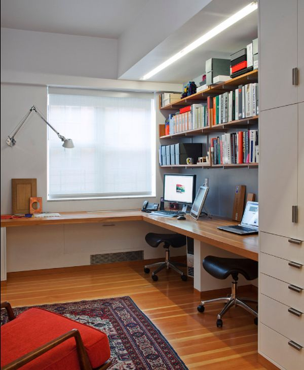 Home Office Design Tips To Stay Healthy: Easy Ways To Organize Your Cluttered Home Office