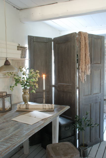 Room Divider Featuring Lots Of Storage Compartments View In Gallery Rustic