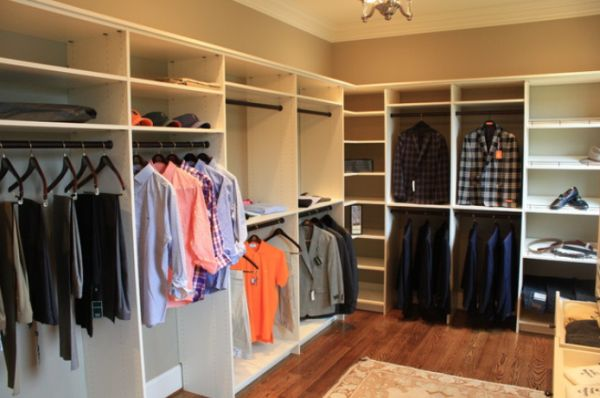 Walk In Closet Ideas. View In Gallery Walk Closet Ideas D