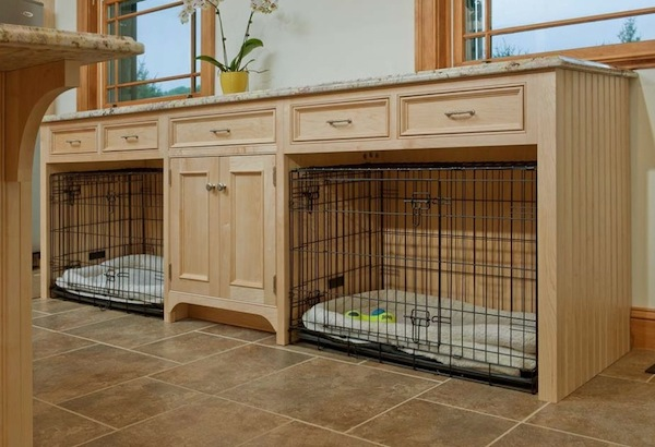 Pet Area Bultin Cabinetry Great Pictures
