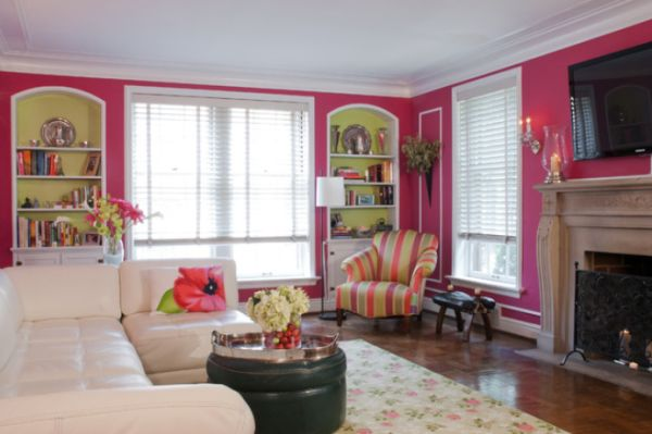 black and pink living room pink living rooms ideas that are not overbearing 22559