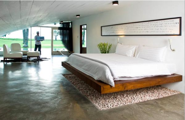 Floating Beds Stunning 10 Platform Beds  A Modern And Flexible Solution In The Bedroom Design Ideas