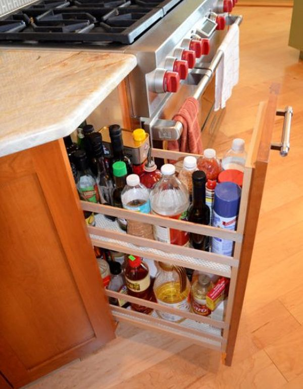 19 Unexpected, Versatile And Very Practical Pull Out Shelf Storage Ideas