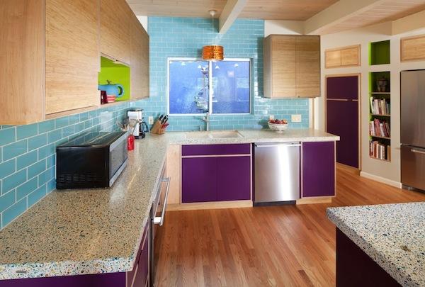 purple kitchen appliances