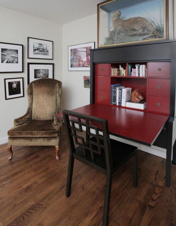 Bon Space Efficient And Versatile Fold Down Desk Designs