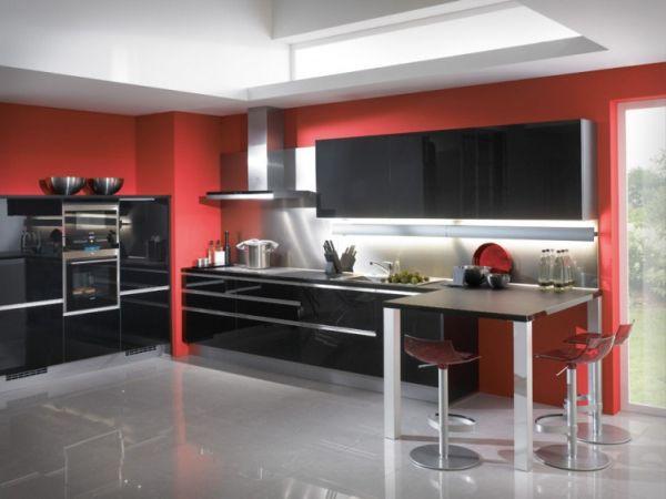 55 modern kitchen design ideas that will make dining a delight. Black Bedroom Furniture Sets. Home Design Ideas