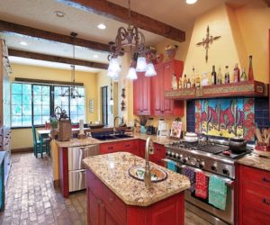 ... Brighten Your Creative Kitchen With Colorful Cabinetry Ideas