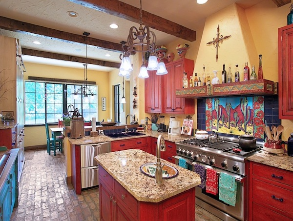 brighten your creative kitchen with colorful cabinetry ideas