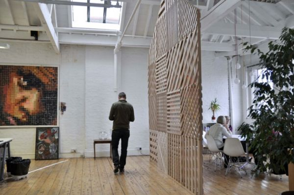 The room divider a simple and flexible tool for organizing space