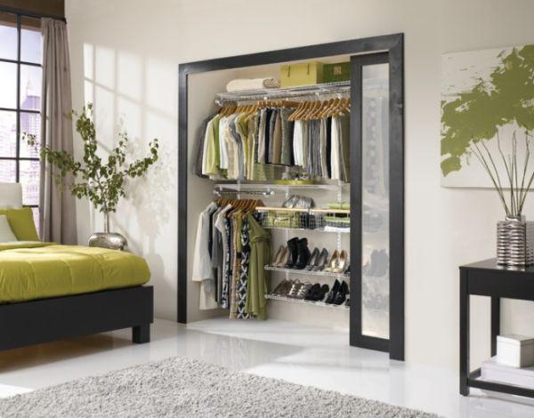 Delightful ... Closet Hidden Behind Sliding Doors View In Gallery ...