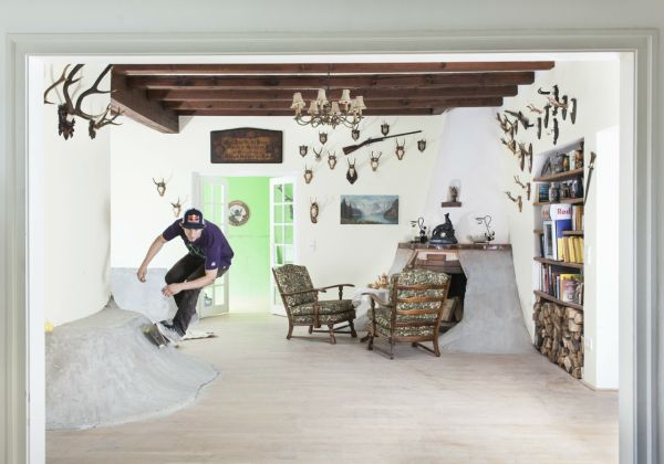 The Second House That We Were Talking About Is The Skate Villa. The Name Is  Indeed Very Suggestive. In The Case Of This Project, The Plan And Strategy  Were ... Awesome Ideas