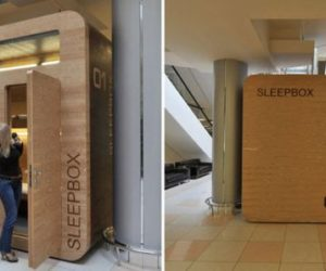 The Sleepbox – a small and safe cabin