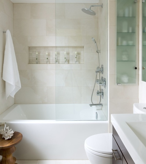 small bathroom white interiors