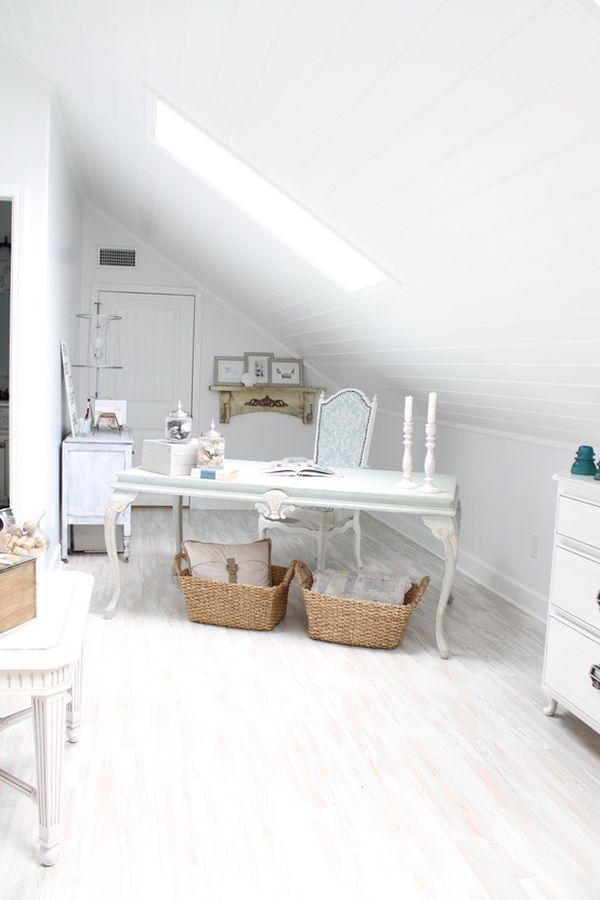 Small Attic 30 cozy attic home office design ideas