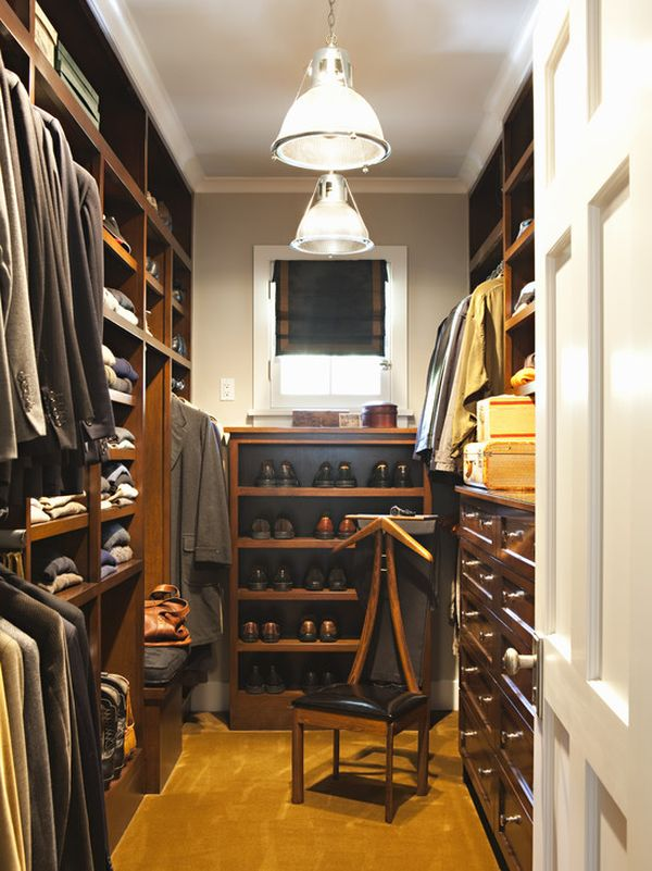 25 interesting design ideas and advantages of walk in closets - Master Closet Design Ideas