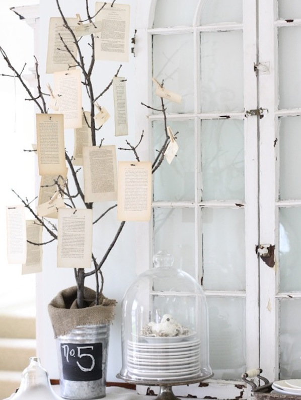 spring inspired tree notes