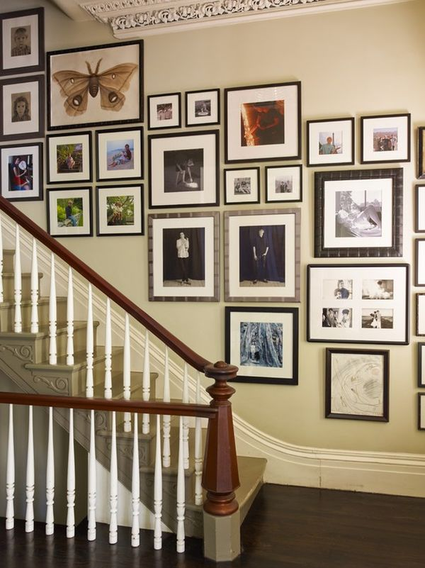 Perfect Tips For Utilizing A Stairway Wall Idea