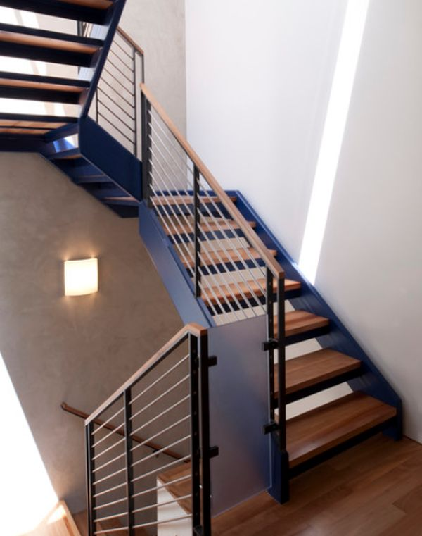 Superieur Modern Handrail Designs That Make The Staircase Stand Out