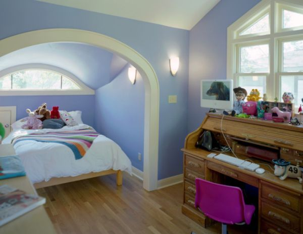 View In Gallery Traditional Kids Bedroom Featuring An Alcove Bed
