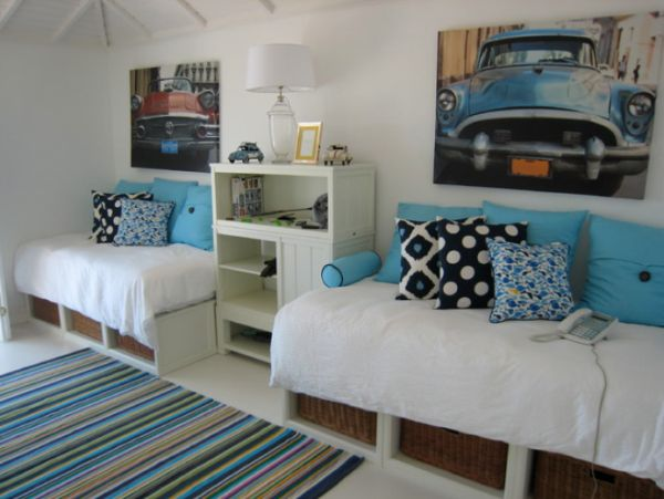 Storage Ideas For A Boy S Bedroom