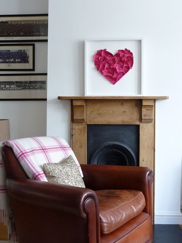 5 valentine 39 s day party decor ideas for Heart decorations for the home