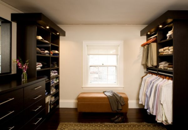 ... Walk In Closet Featuring Lighted Hanging Rods View In Gallery ...