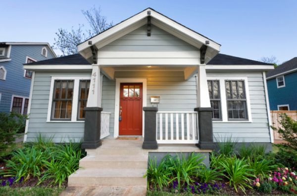 How to use gray with your home 39 s exterior - Grey painted house exteriors model ...