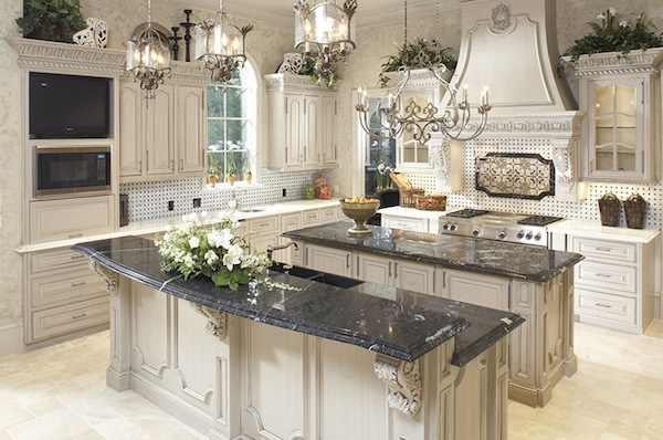 Delightful Winter White Kitchen Images