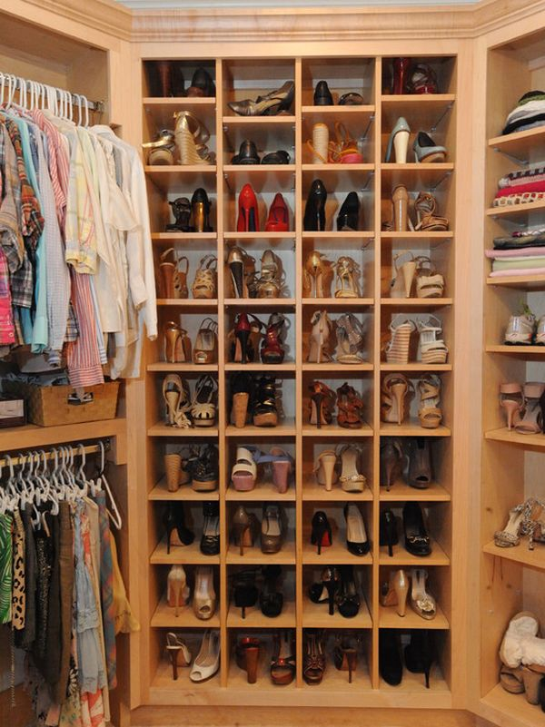 walk in closet women. Contemporary Women Shoes Storage In Walk Closet Women