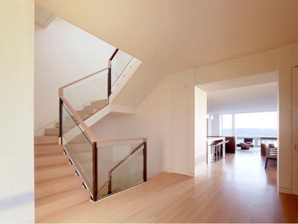 Modern handrail designs that make the staircase stand out for Different stairs design