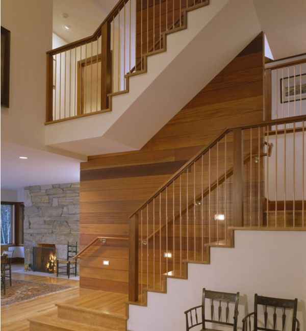 Elegant Modern Handrail Designs That Make The Staircase Stand Out