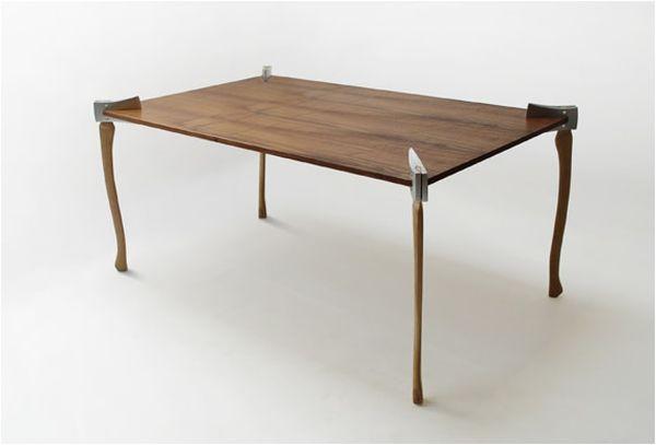Woodsman Axe Coffee Table.