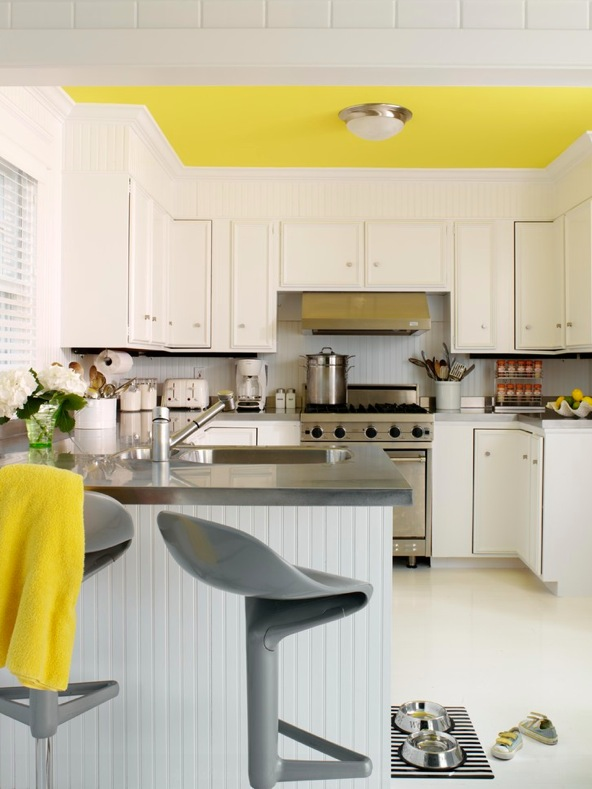 white kitchen cabinets yellowing tips for a yellow themed kitchen 29063