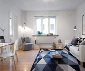 ... 40 Square Meter Apartment With The Well Known Swedish Interior Design