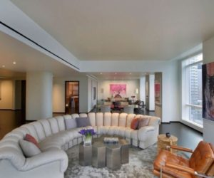 The stunning 200 Chambers Penthouse located in New York City