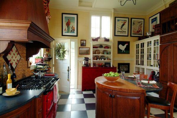 Nice Checkerboard Kitchen Floor Design Ideas Design Ideas