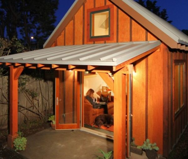 The 420 Square Foot Backyard Cottage