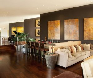 Decor Commanding A Presence Dark Accent Walls That Make Statement
