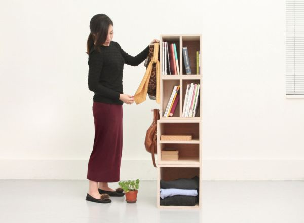 Aleph multi-purpose furniture.