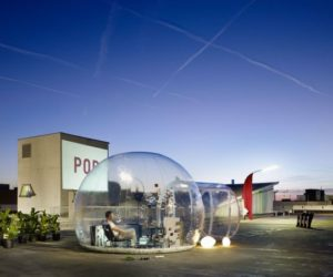 The Bathroom Bubble – an exhibition creation that can pop up anywhere