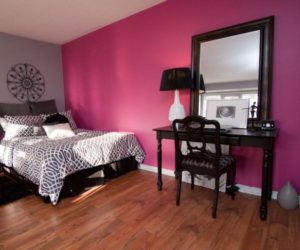 color that work well in combination with black furniture - Bedroom Decorating Ideas With Black Furniture