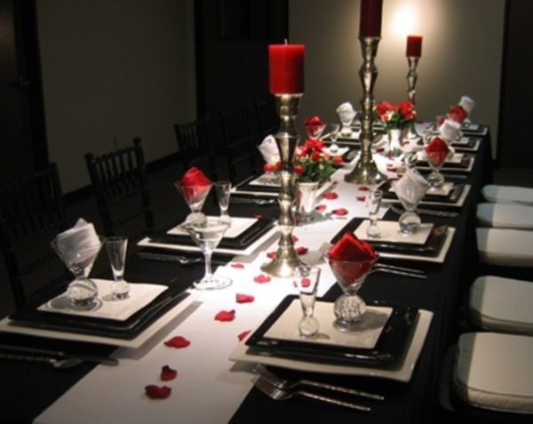 20 Valentine S Day Table Settings Perfect For Romantic