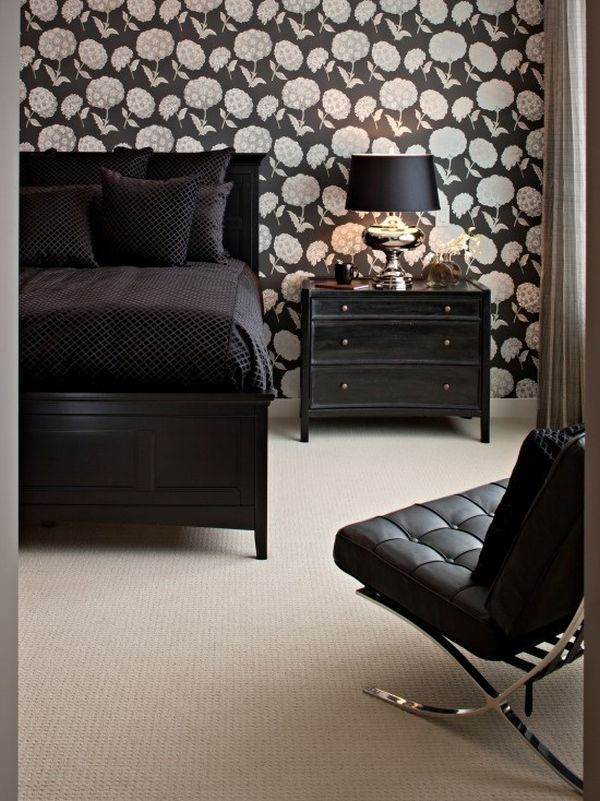 black bedroom furniture wall color. Brilliant Black And Black Bedroom Furniture Wall Color U