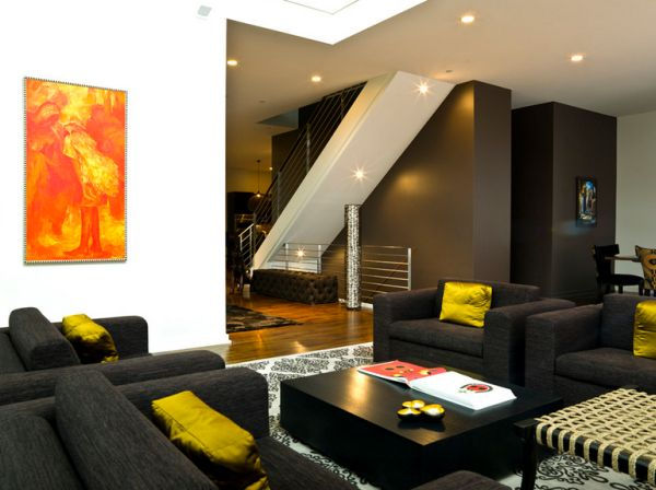 Living Room Colors For Black Furniture color that work well in combination with black furniture