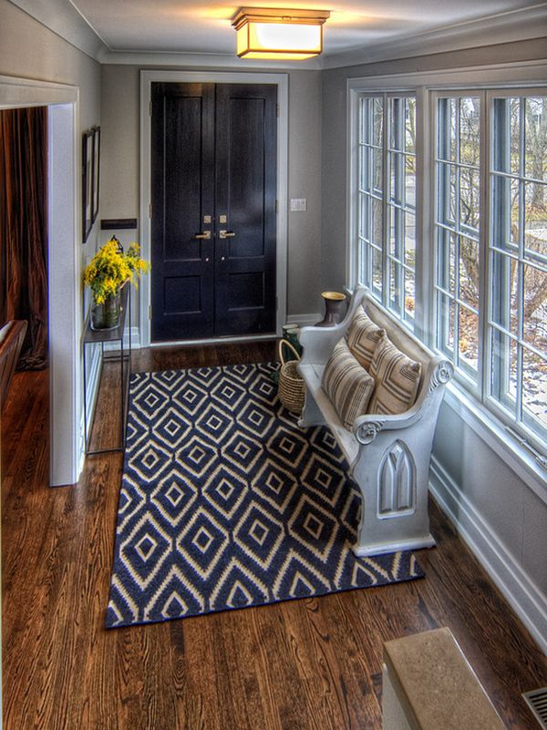 Foyer Rugs What Size : Things to keep in mind when choosing an entryway rug