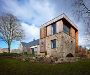 Old Mill Turned Into A Contemporary Home in Scotland