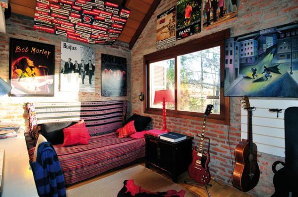 Punk Rock Room Design