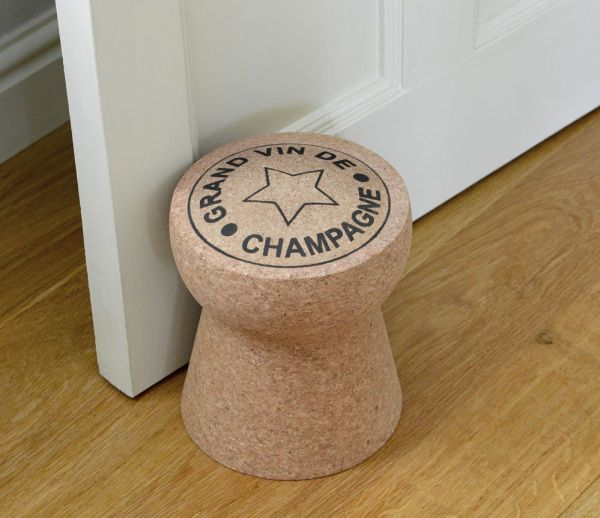 View in gallery. This is the Champagne Cork Doorstop ...